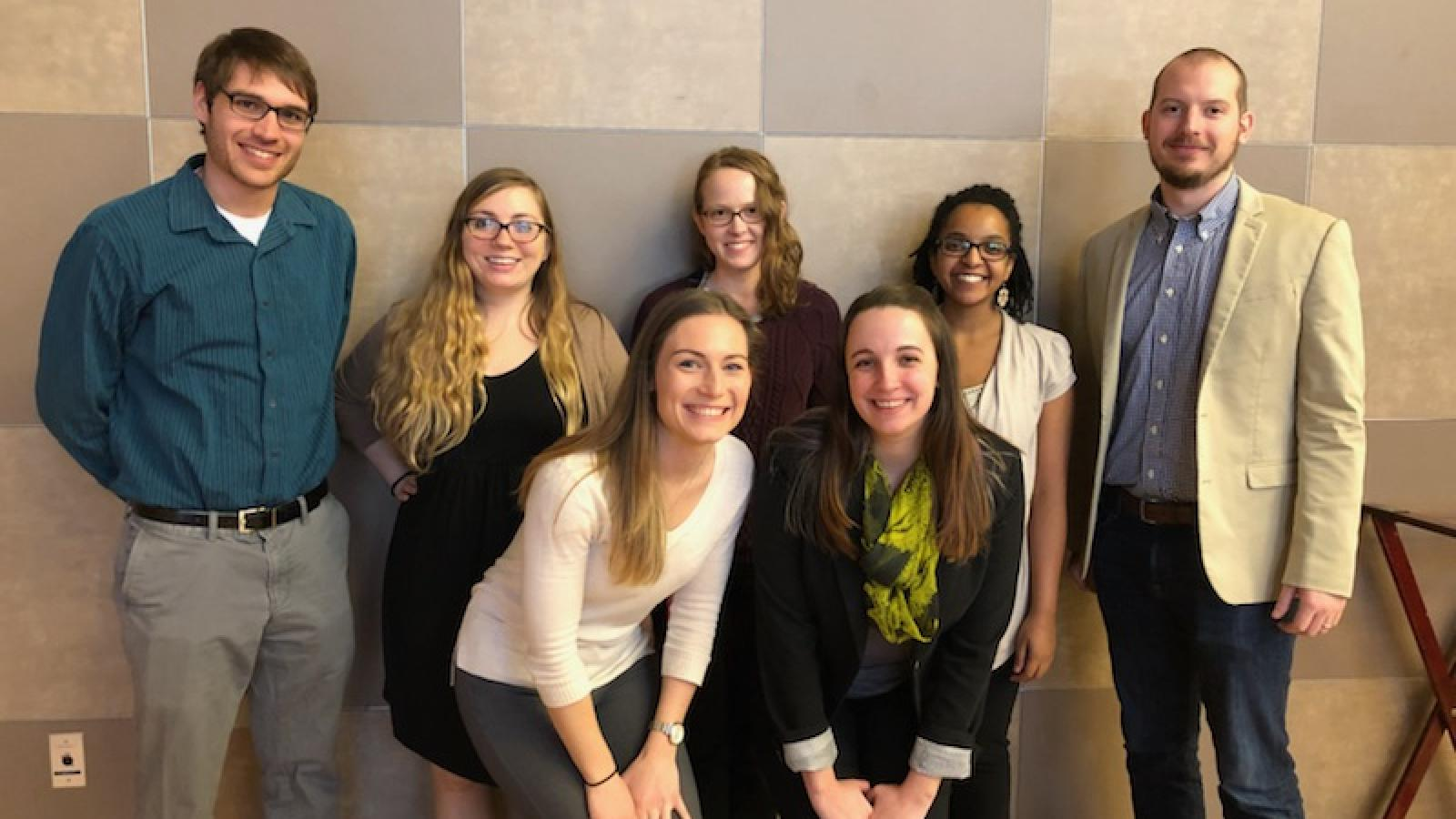 NGP Students at the 2018 Hayes Forum
